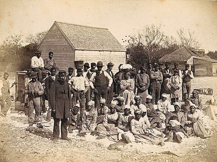 Slave Plantations in the South
