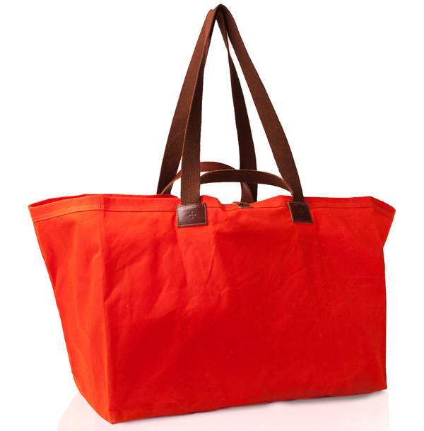 Marie Turnor Idea bag in safety orange