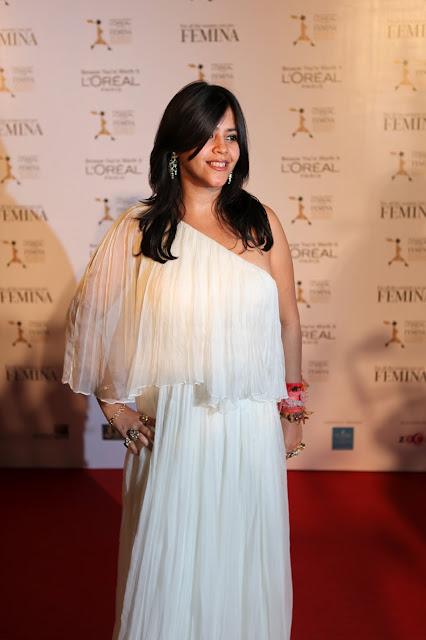 ekta kapoor l'oreal femina awards dress