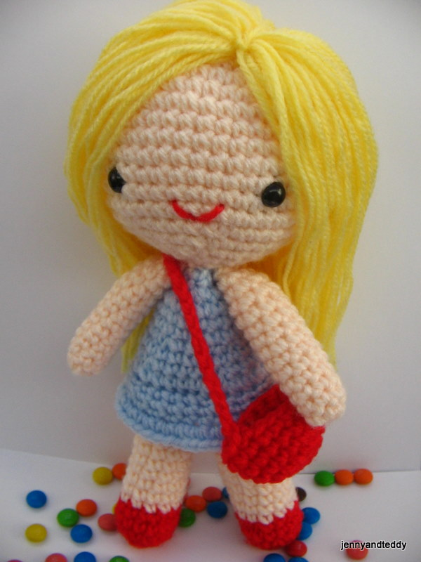 Free Amigurumi Pattern Little Girl Kate
