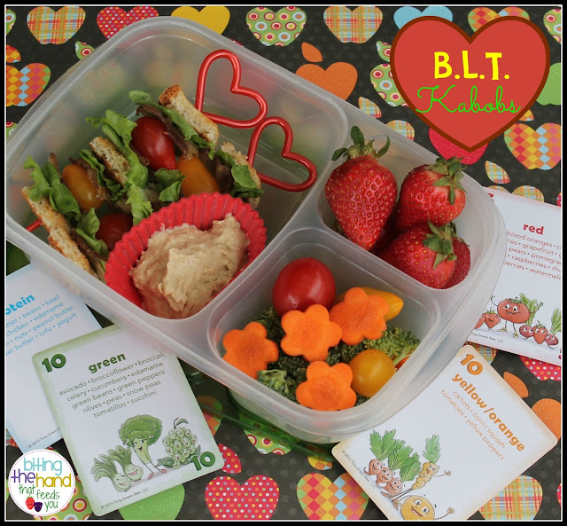 BLT school work healthy easy quick lunch bento skewers kebabs kebobs