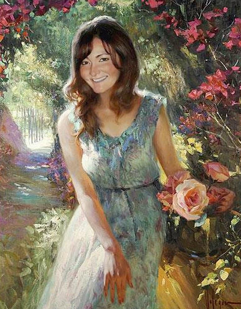 cuadros-mujeres-y-flores
