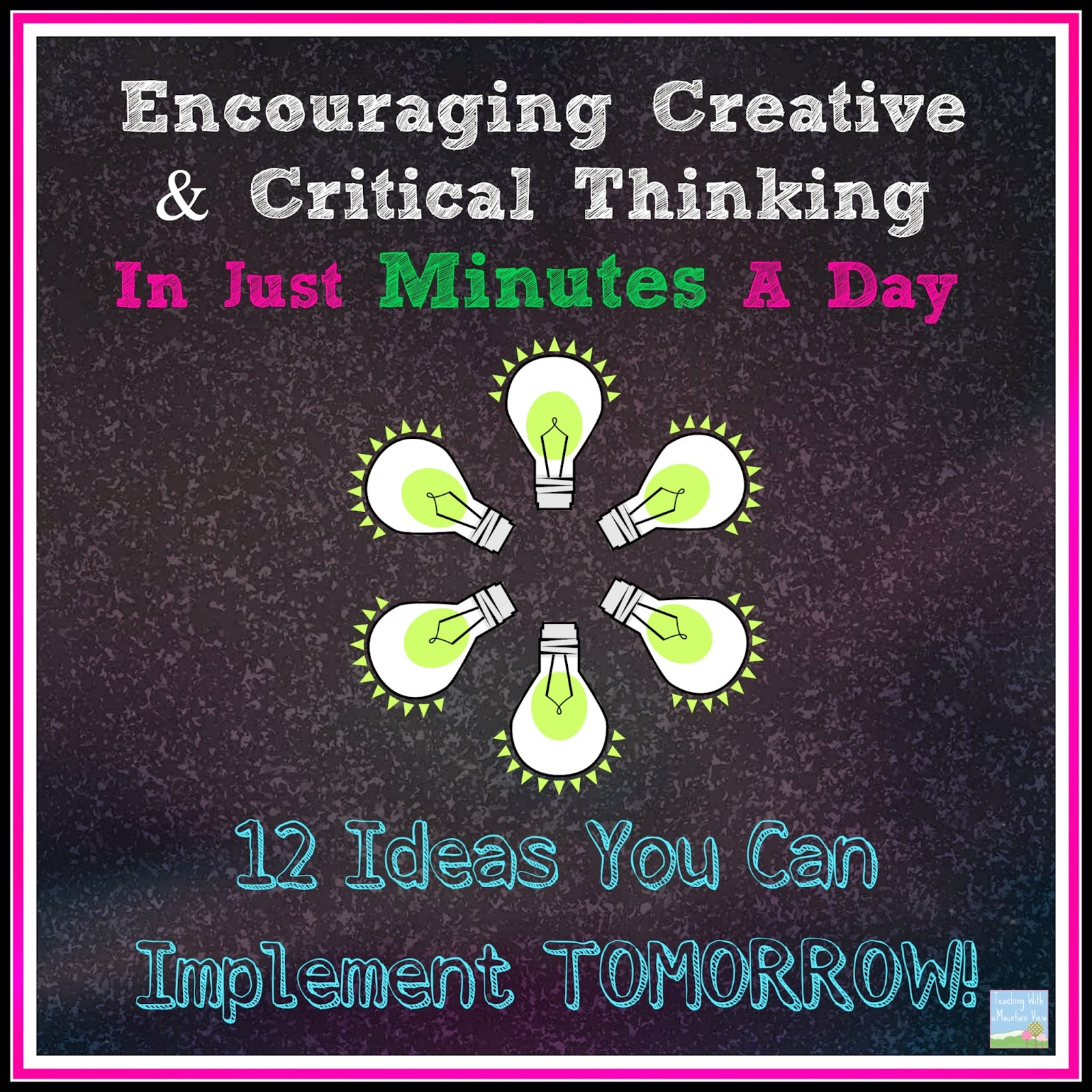 Critical and creative thinking definition