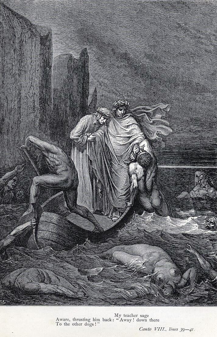 Borges todo el a o jorge luis borges la divina comedia - Jardin infierno ...