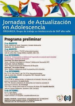 Jornadas de Actualización en Adolescencia Grupo de trabajo en adolescencia .