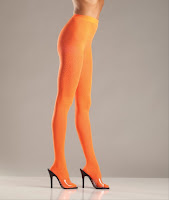 orange tights