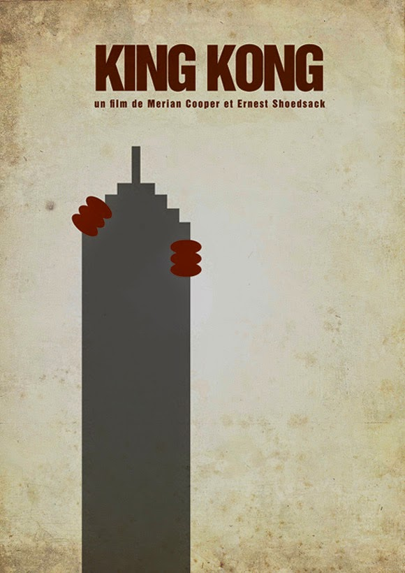 Minimalist Movie Posters King Kong