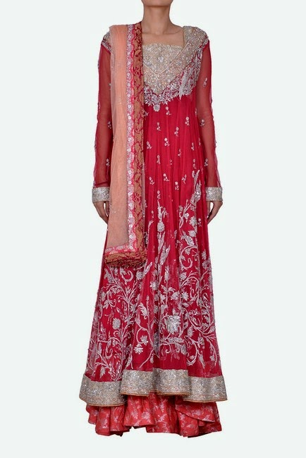 Sania Maskatiya Bridal Dresses 2014 For Pakistani Girls