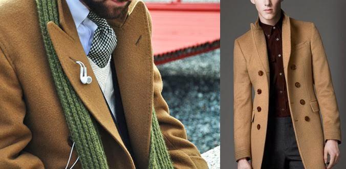 Menswear Coat Cammello très Cappotto Chic Il Très Camel fxHqwRBcS