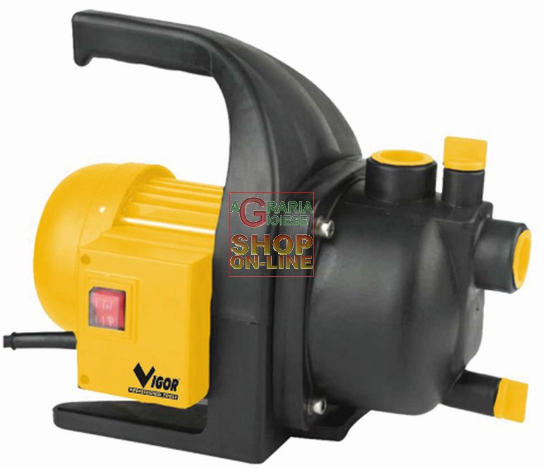ELETTROPOMPE VIGOR INOX-GHISA SOMMERSA X  ACQUE LURIDE MOTORE 220V 750W VE750SUB