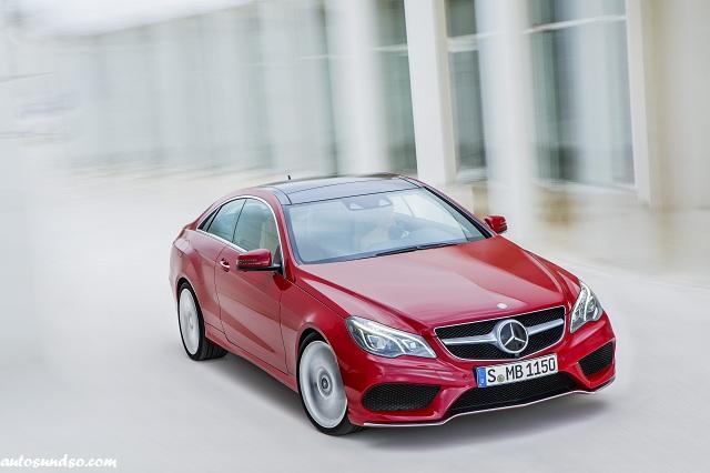 Mercedes-Benz Modellpflege 2013: E-Klasse Coupe