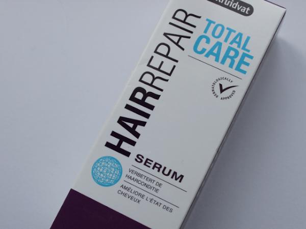 Kruidvat Total Care Hair Repair Serum.