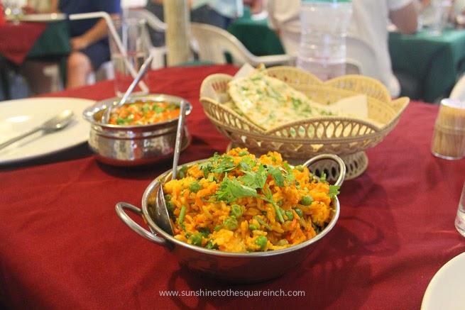 Indian Food at Railay Beach