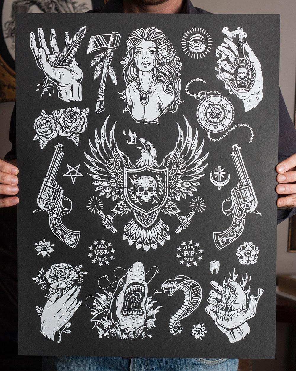 Free Tattoo Flash Designs To Print