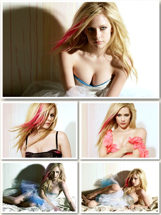 Avril Lavigne Maxim Super HQ Wallpapers