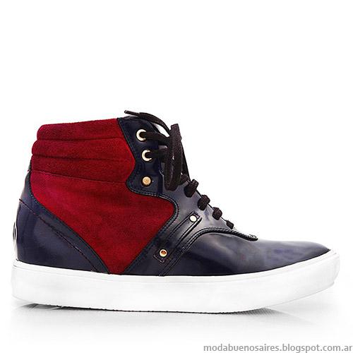 Moda invierno 2015 zapatillas de mujer Blaque.