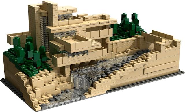 Lego Architecture Fallingwater 210052