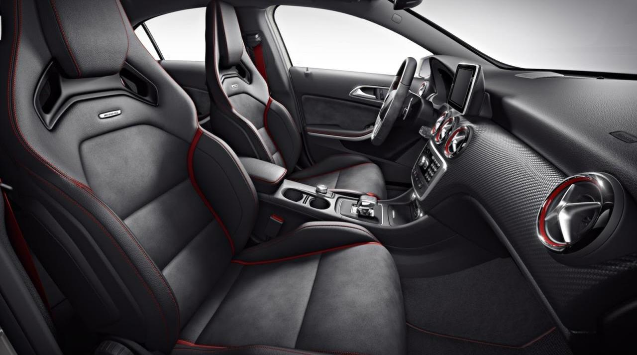 Mercedes benz a45 amg edition 1 for Interieur sport