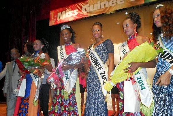 Miss Guinee Guinea 2014 winner Halimatou Diallo