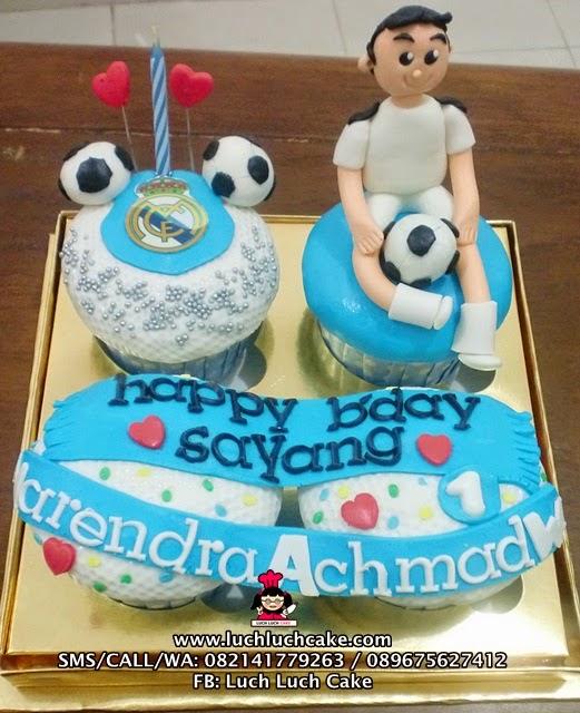 Cupcake Real Madrid Untuk Pacar Daerah Surabaya - Sidoarjo