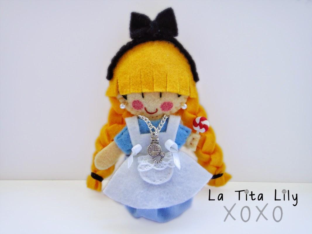 Broche Alice in Wonderland