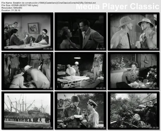Batallón de construcción (1944) | Capturas de la pelicula