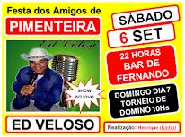 SÁB - 6 DE SET - PIMENTEIRA
