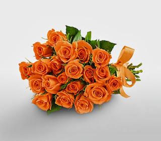 Ramos de Novias Color Naranja, parte 3