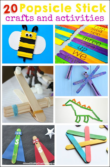 I had no idea there was so many popsicle stick crafts and activities for kids out there. My kids just love craft sticks!