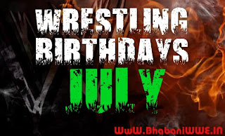 Wrestling Birthdays » July [HHH, Big Poppa Pump, Bret Hart, Lesnar & More]