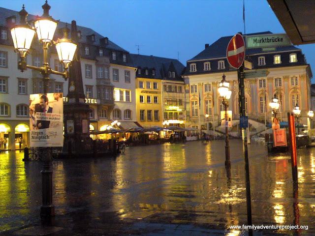 Bonn in the rain