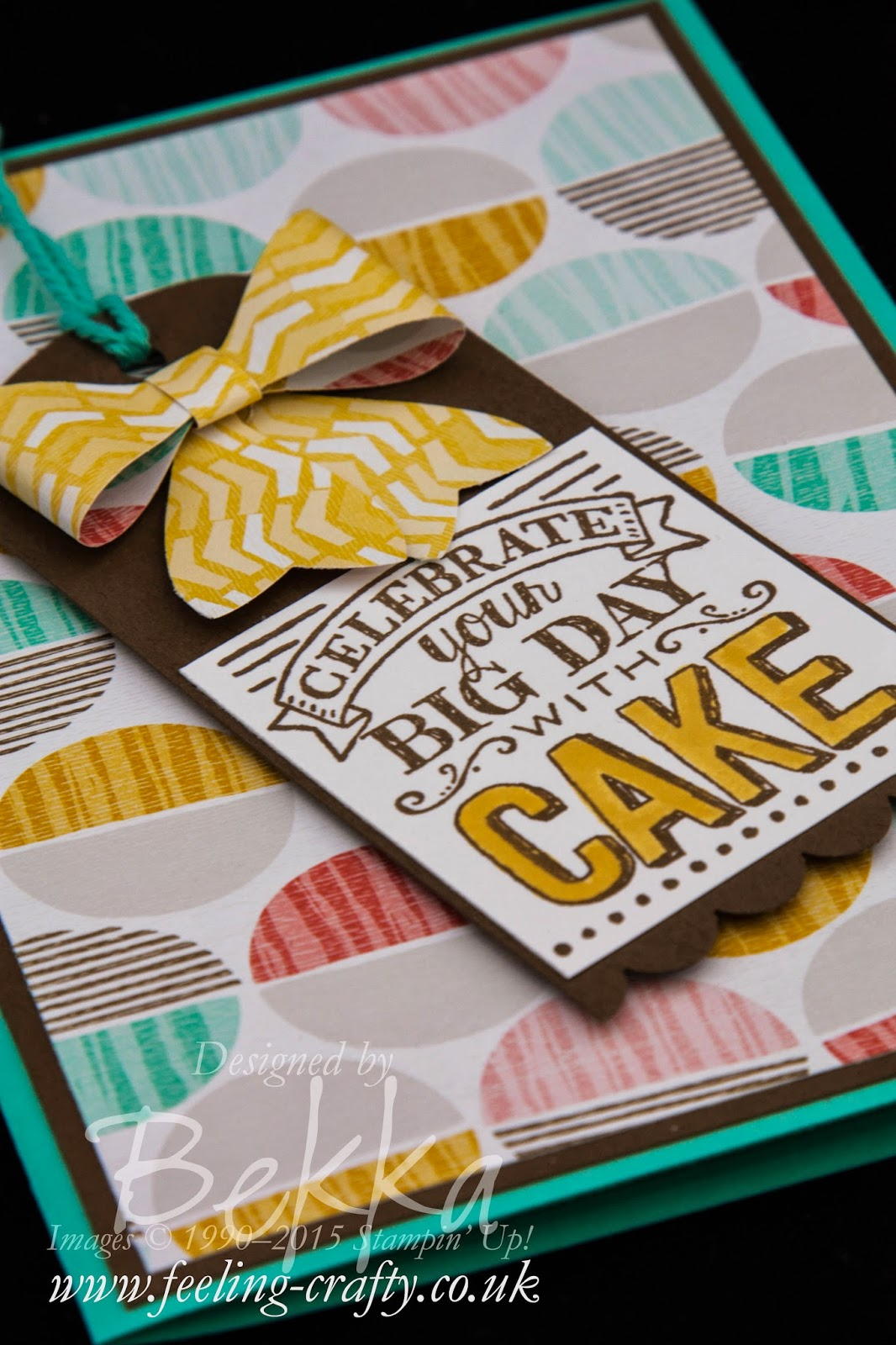 Celebrate Your Birthday Card - check this blog for lots of cute ideas