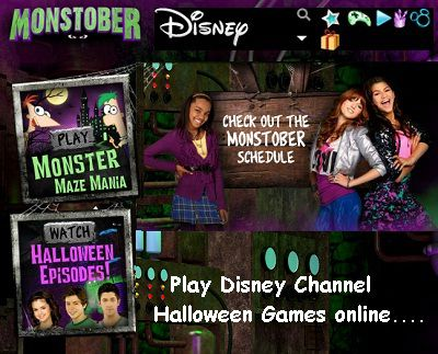 DisneyChannel.com/Halloween: Play Disney Channel Halloween Games online