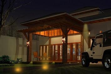 Jasa gambar Desain rumah tinggal komplit dan lengkap