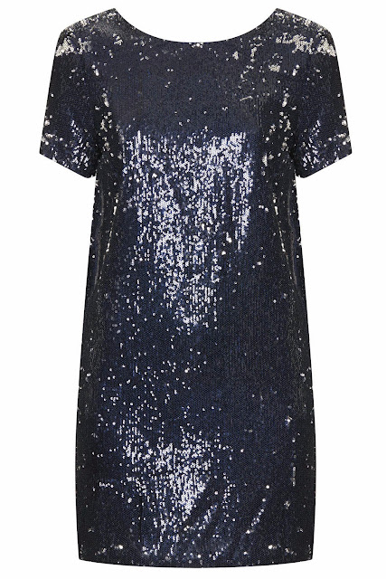 sequin boxy dress
