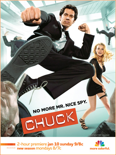 Chuck - Season Three movie