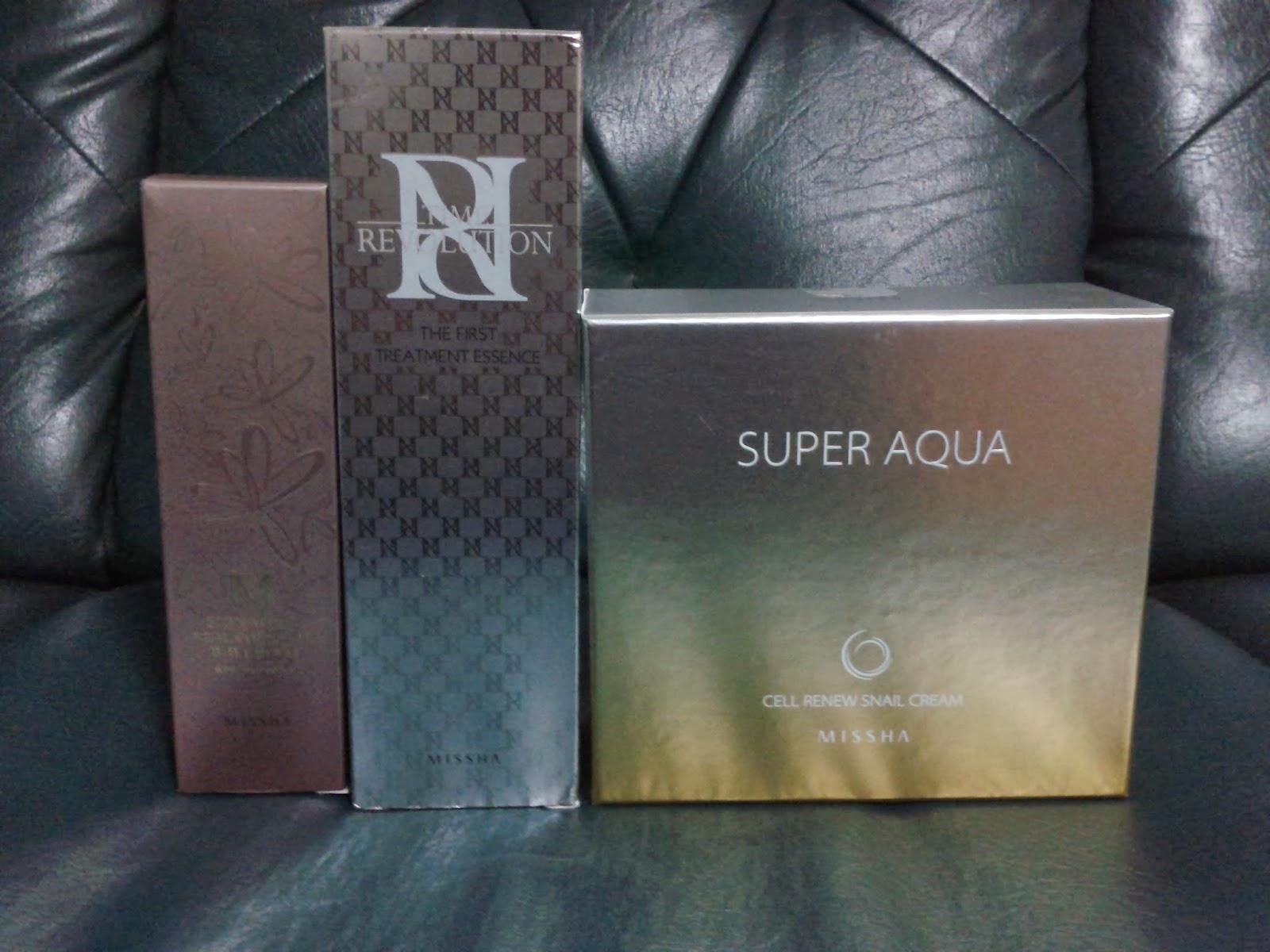 Pas-sosyal: Review: Missha Super Aqua Cell Renew Snail Cream