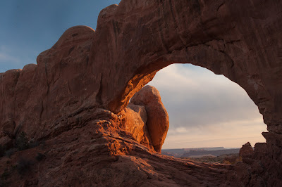 Arches National Park: North Window