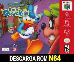 Disneys Donald Duck - Goin Quackers ROMs Nintendo64 Español