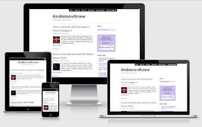 Download Template Thesis Responsive Blogger V2