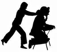 massage redinamisant pratiqué sur chaise