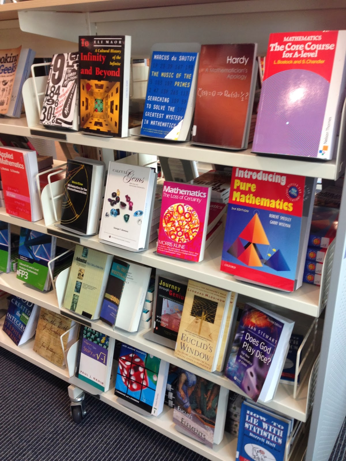 """Liberate your book cupboards and create a more true """"bookstore"""" model in your school library?"""