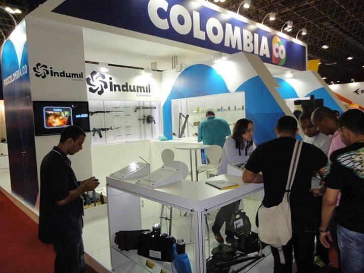 Destacada presencia de Colombia en LAAD 2015.