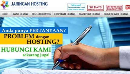 ASP.NET Hosting Terbaik di Indonesia bersama dengan JaringanHosting.com