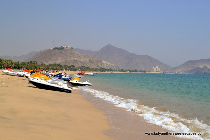 marine amusement at Khorfakkan