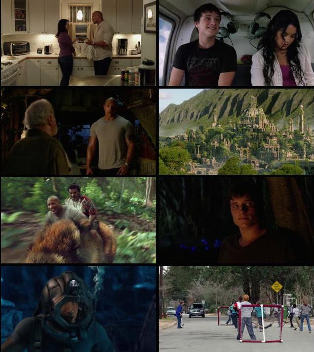 Journey 2 The Mysterious Island 2012 Dual Audio Hindi BRRip 720p