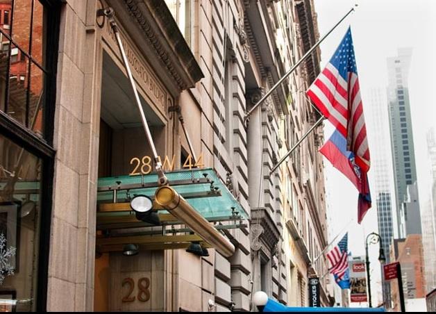 New york city club row west 44th street for 44th street salon