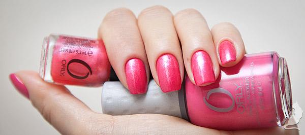 Orly Fiesta + Pink Lemonade