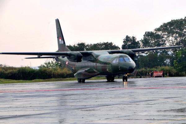 Pesawat CN295. PROKIMAL ONLINE Kotabumi Lampung Utara