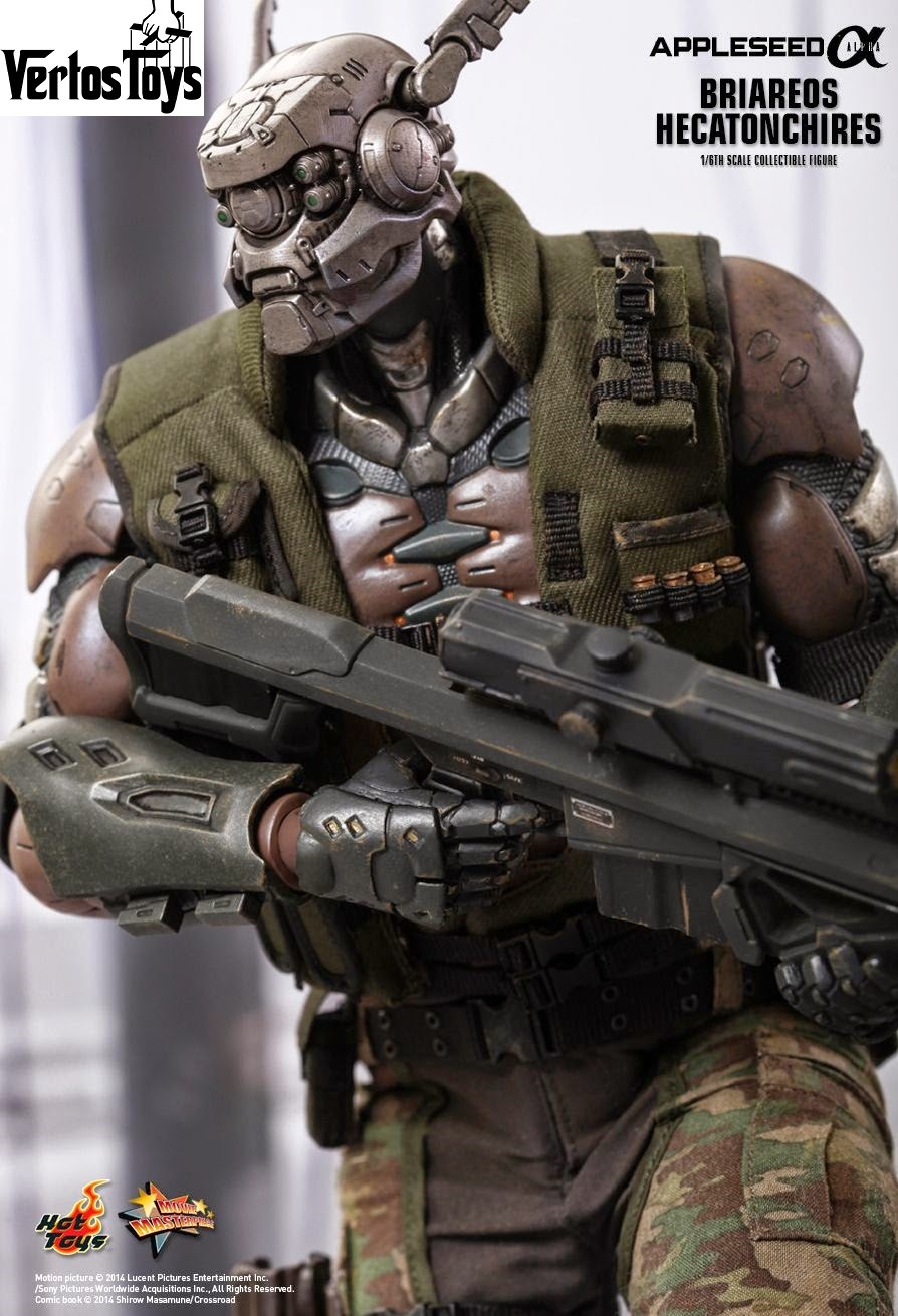 Pre Order Hot Toys 1/6 scale Appleseed Alpha Briareos Hecatonchires MMS269